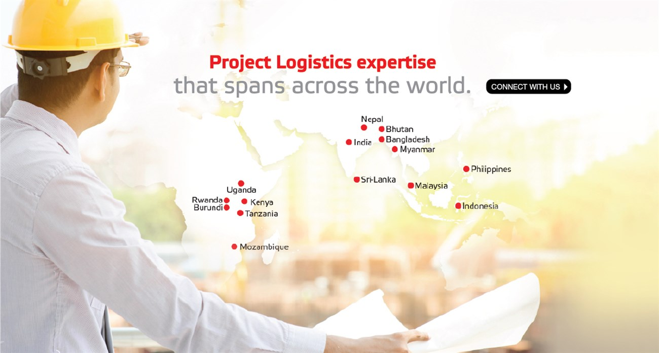 Project logistics expertise that spans across the world