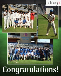 On March 04, 2017, the Allcargo-Avvashya team defeated the Osian cricket club to win the final of the 87th edition of the Times Cricket Shield for division 'E'