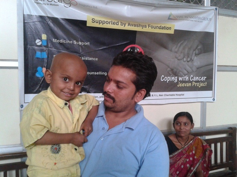 Durgesh Manikrao Bholankar coping with cancer